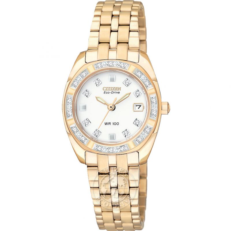 Ladies Citizen Paladion Diamond Watch EW1593-58A