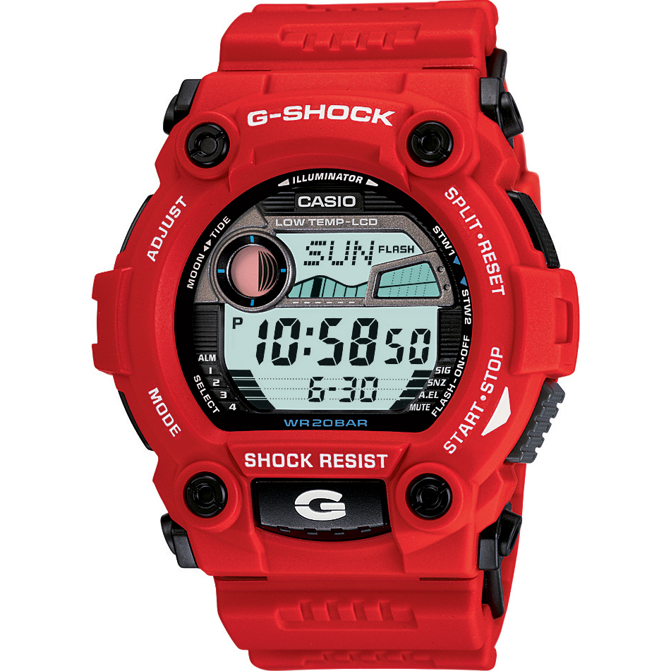 52de423487dd Gents Casio G-Shock G-Rescue Alarm Chronograph Watch (G-7900A-4ER ...