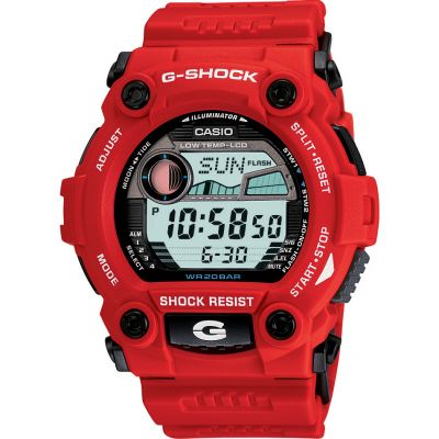 Casio G-Shock G-Rescue Herrenchronograph in Rot G-7900A-4ER