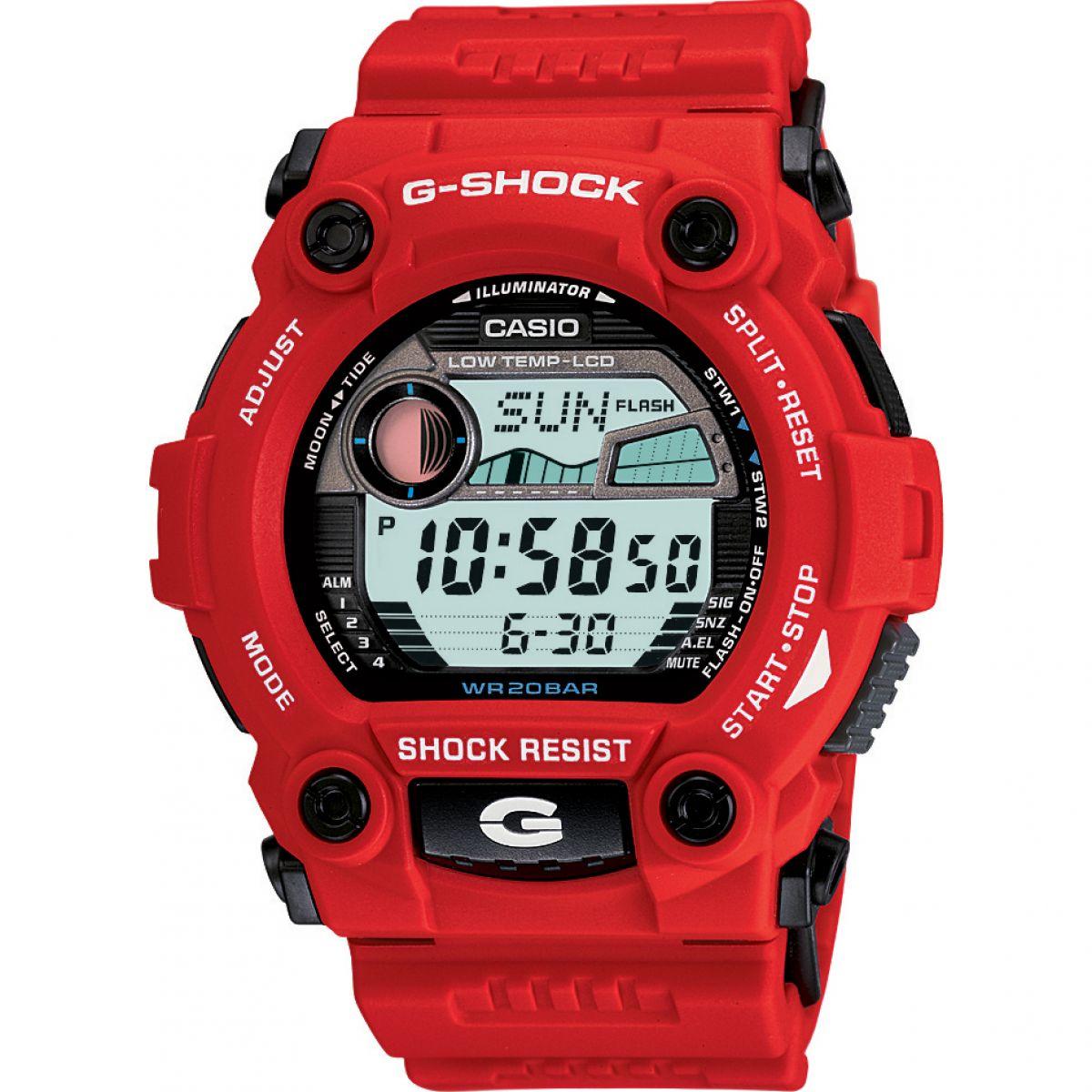 Gents Casio G-Shock G-Rescue Alarm Chronograph Watch (G-7900A-4ER)   WatchShop.com™