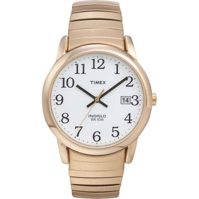 Timex Classic Easy Reader Herrenuhr in Gold T2H301