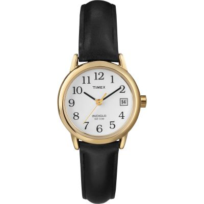 Timex Classic Easy Reader Damenuhr in Schwarz T2H341