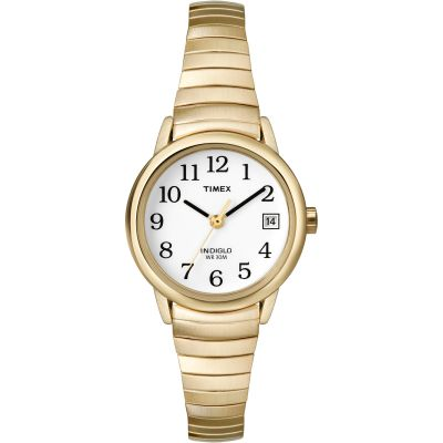 Timex Classic Easy Reader Damenuhr in Gold T2H351