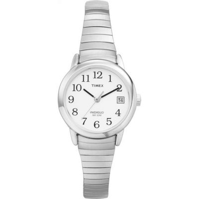 Timex Classic Easy Reader Damenuhr in Silber T2H371