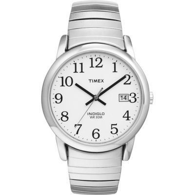 Timex Classic Easy Reader Herrenuhr in Silber T2H451