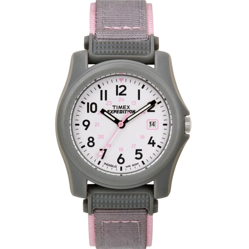 Ladies Timex Indiglo Expedition Camper Watch T42591