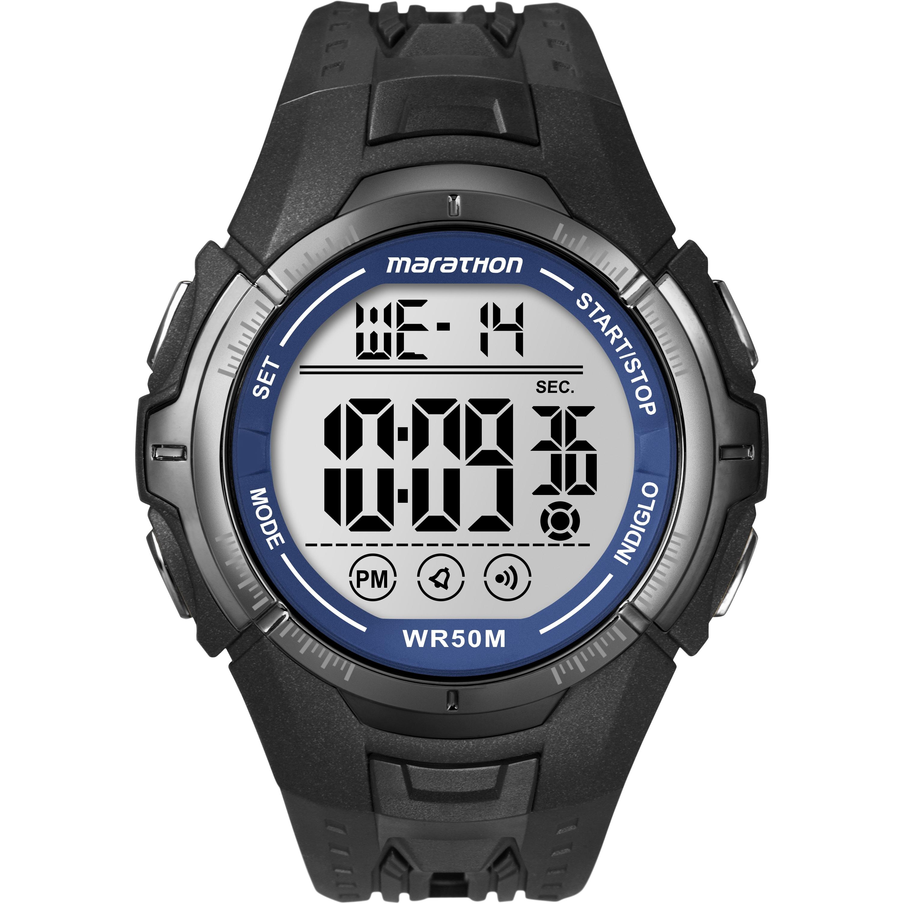 6226aab8ac19 Gents Timex Marathon Alarm Chronograph Watch (T5K359)