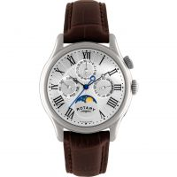 Mens Rotary Moonphase Watch