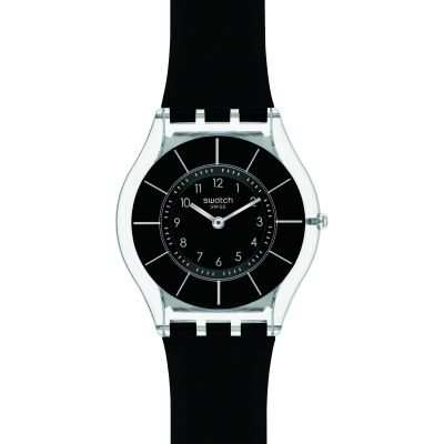 Unisex Swatch Skins Black Classiness Watch SFK361