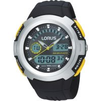Mens Lorus Alarm Chronograph Watch R2323DX9