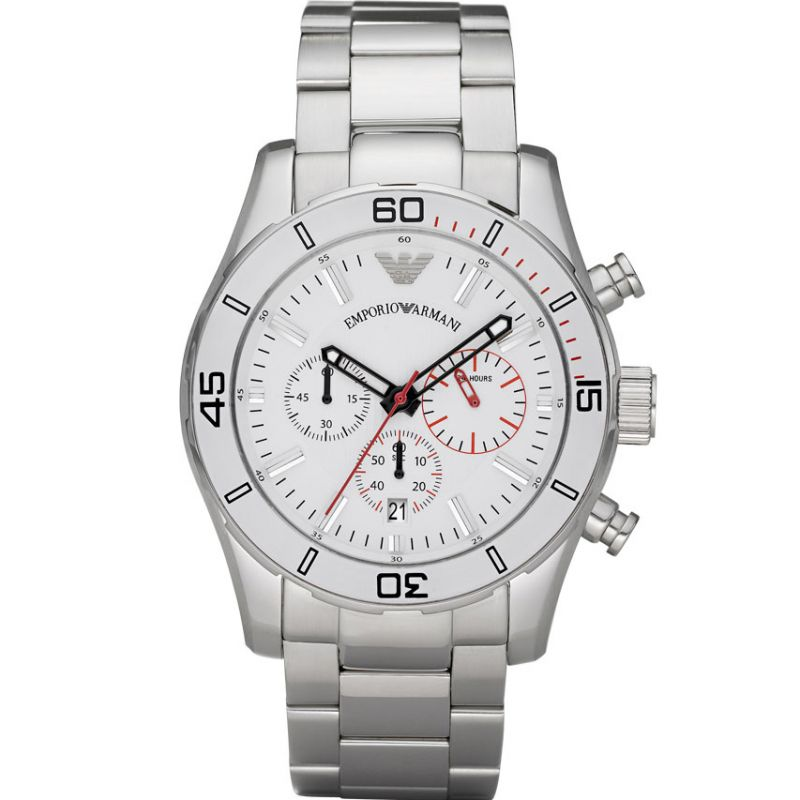 Mens Emporio Armani Chronograph Watch AR5932