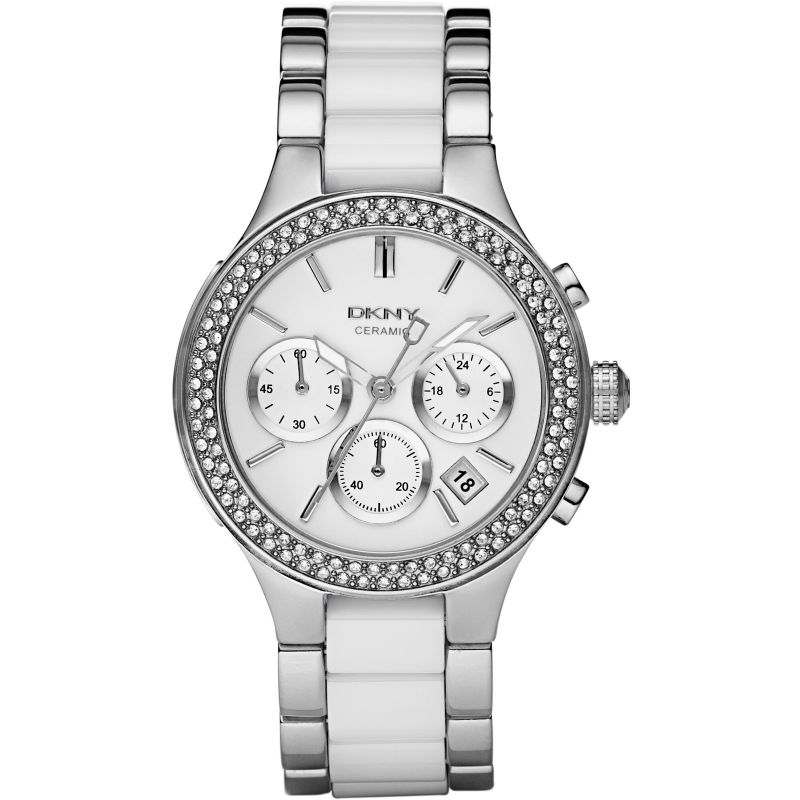 Ladies DKNY Chambers Chronograph Watch NY8181