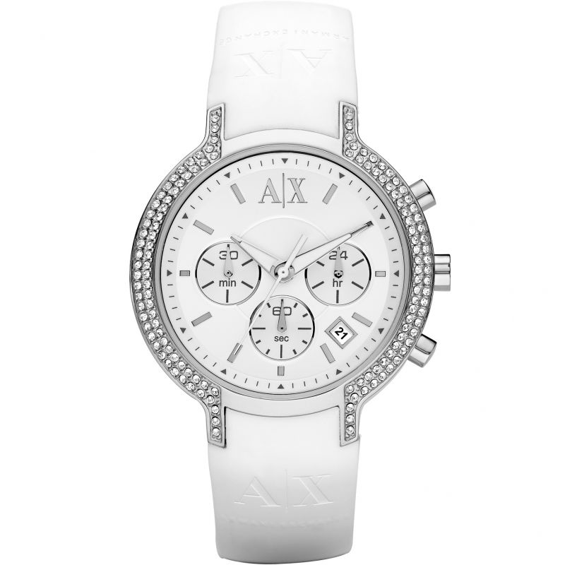 Ladies Armani Exchange Chronograph Watch AX5062