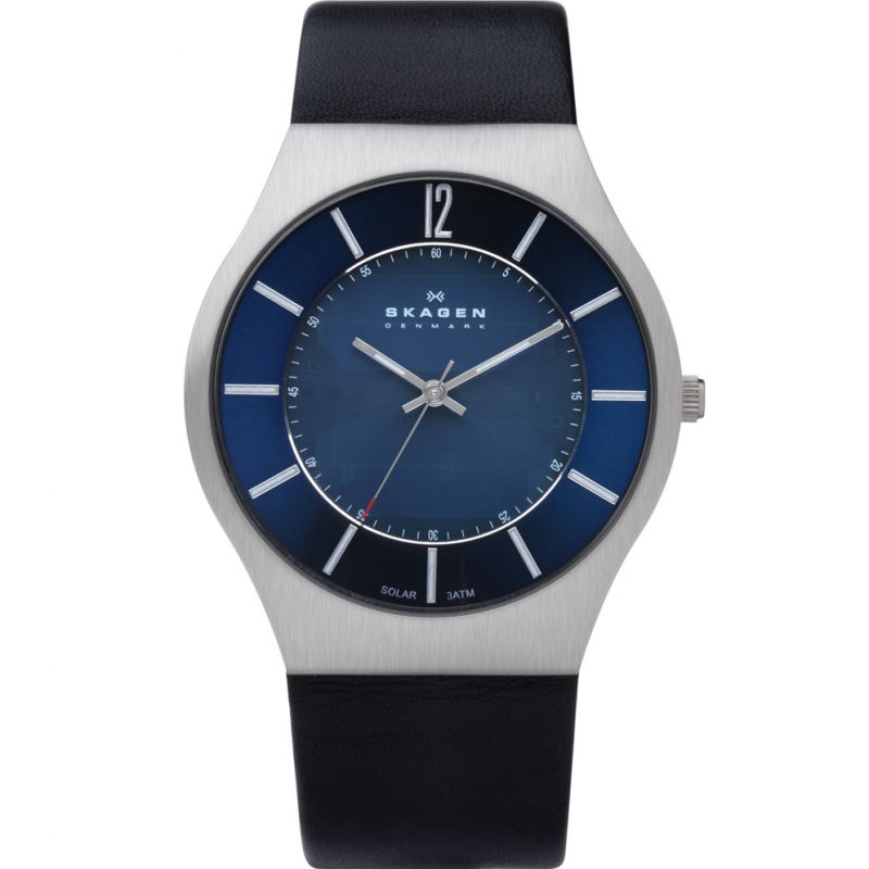 Mens Skagen Solar Powered Watch 833XLSLN