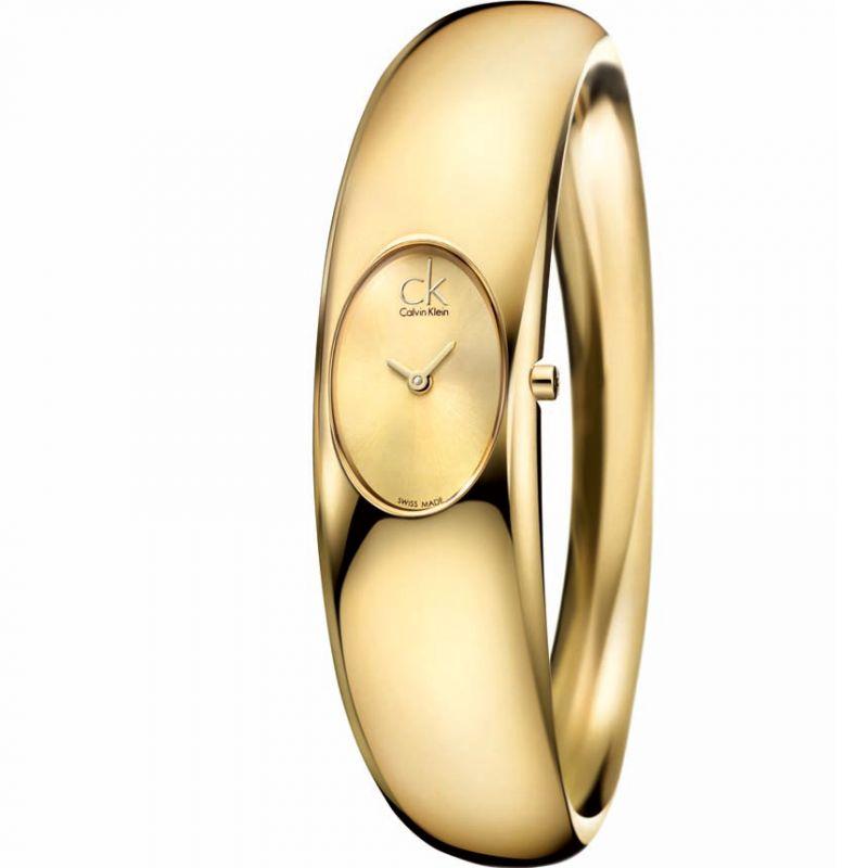 Ladies Calvin Klein Exquisite Medium Bangle Watch