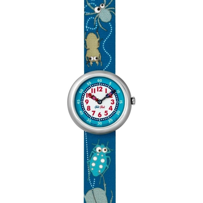 Childrens Flik Flak Buggin Around Watch FBN078