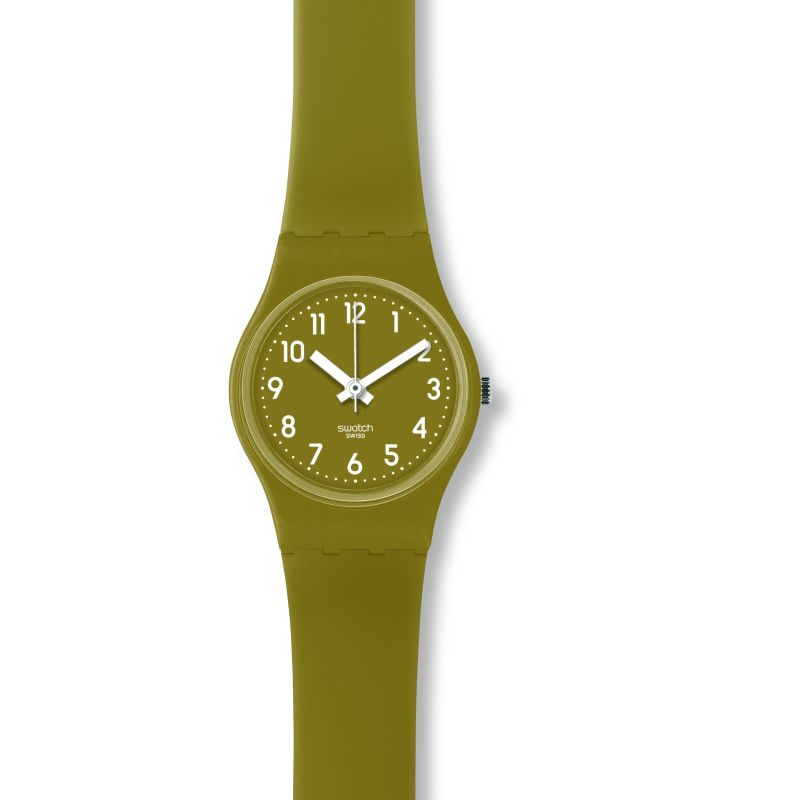 Ladies Swatch Green Trace Wrap Watch LG122C