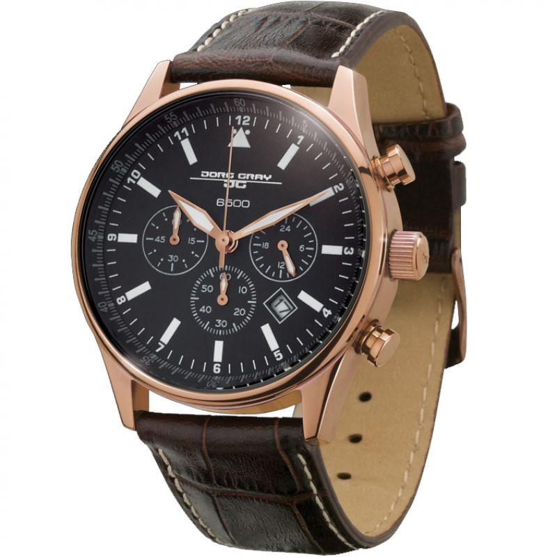 Mens Jorg Gray Chronograph Watch