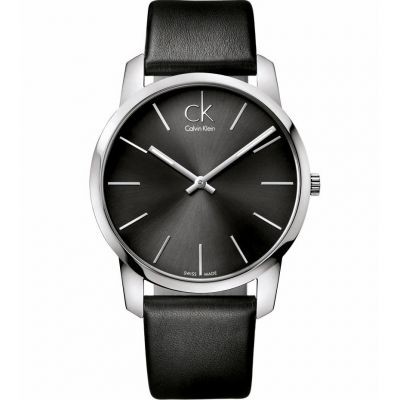 Calvin Klein City Herrenuhr in Schwarz K2G21107