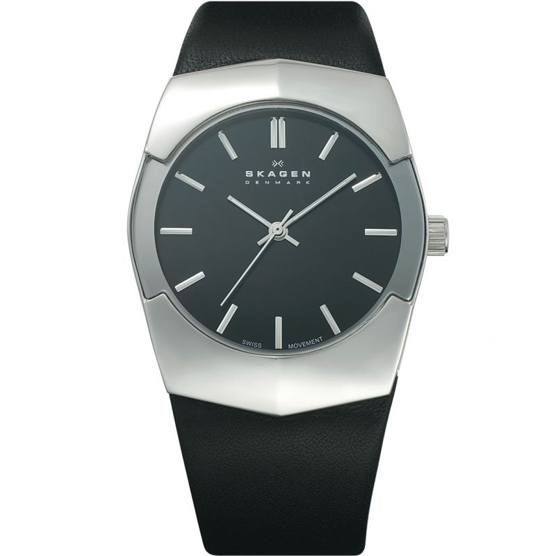 Mens Skagen Black Label Executive Watch 580XLSLB