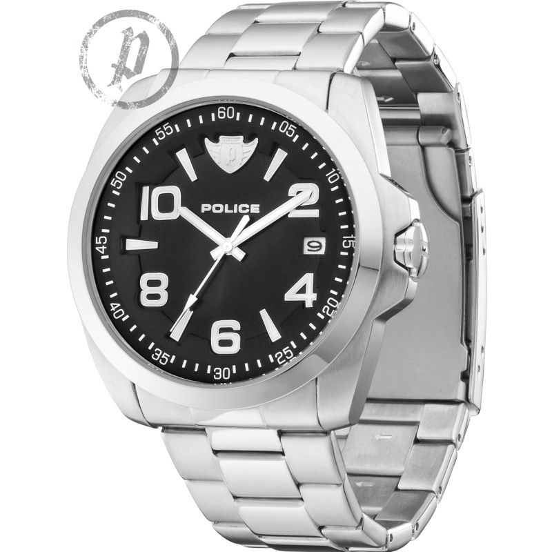 Mens Police SOVEREIGN Watch 12157JS/02MC