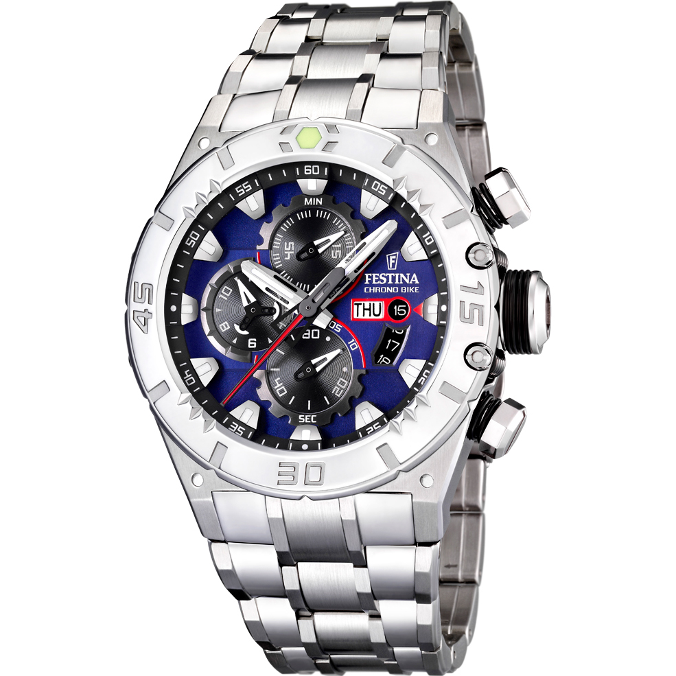 4fbddc10c Gents Festina Chrono-Bike Chronograph Watch (F16527/6) | WatchShop.com™