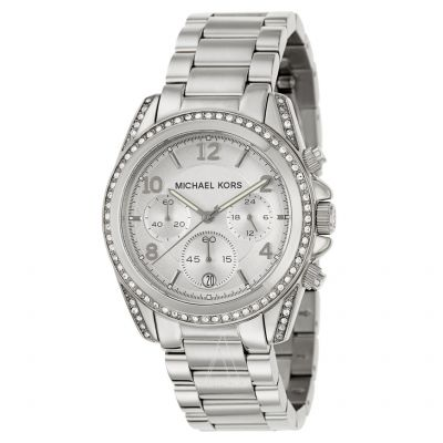 Michael Kors Blair Damenchronograph in Silber MK5165