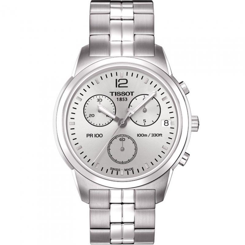 Mens Tissot PR100 Chronograph Watch