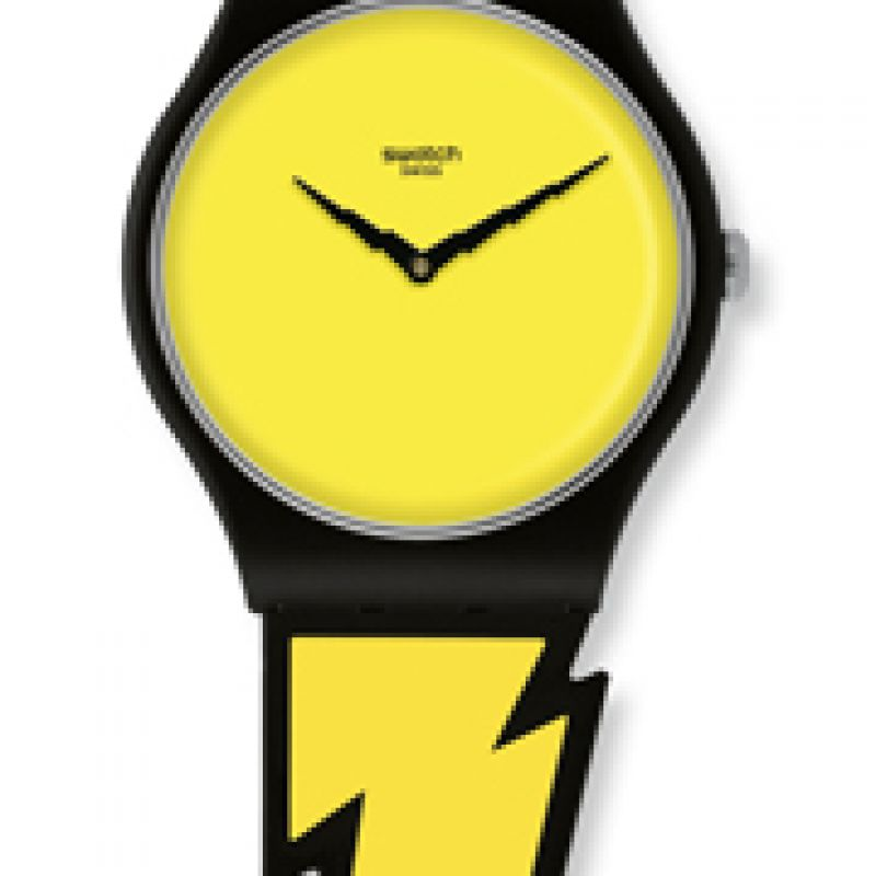 Unisex Swatch Lightning Flash Watch SUOZ104