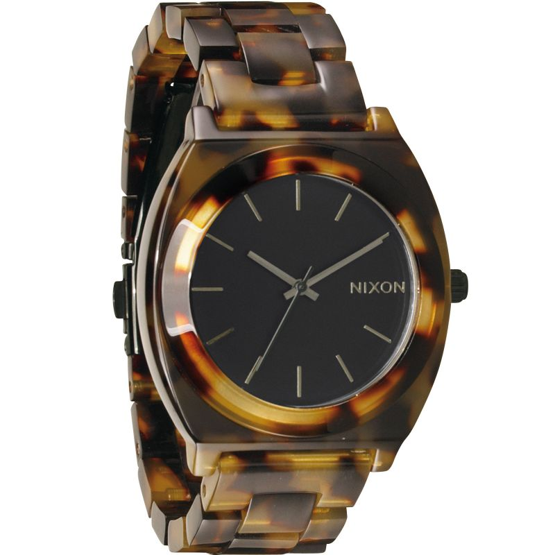 Unisex Nixon The Time Teller Acetate Watch