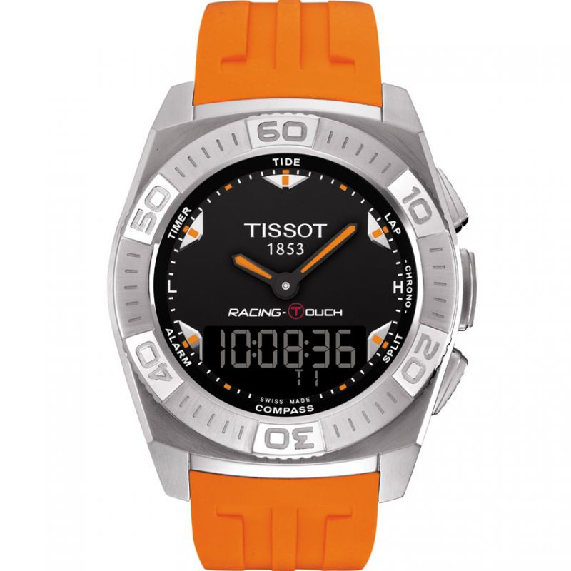 Mens Tissot Racing Touch Alarm Chronograph Watch T0025201705101