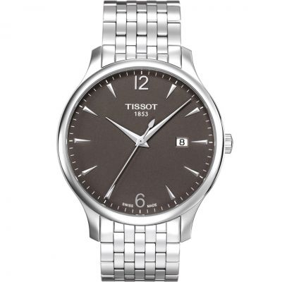 Tissot T-Classic Tradition Herrenuhr in Silber T0636101106700