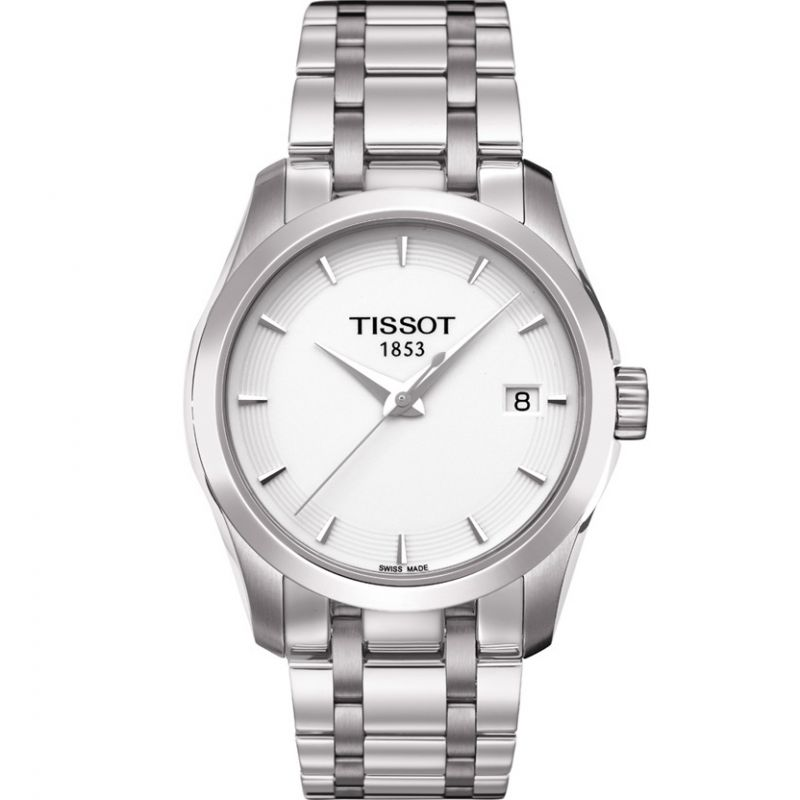 Ladies Tissot Couturier Lady Watch T0352101101100