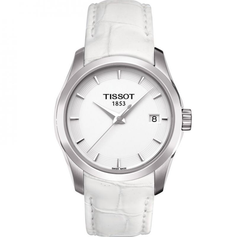 Ladies Tissot Couturier Lady Watch T0352101601100