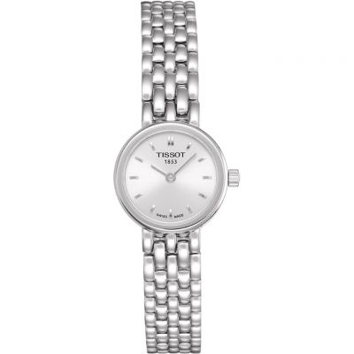 Tissot T-Lady Lovely Damenuhr in Silber T0580091103100