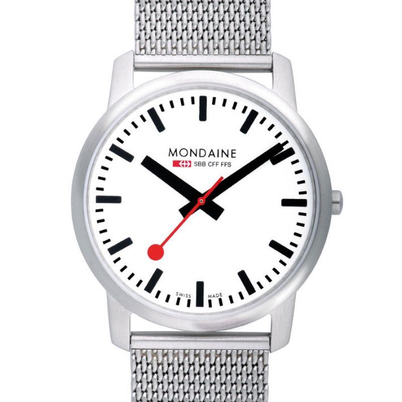 Mens Mondaine Swiss Railways Simply Elegant Watch