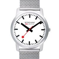 Mens Mondaine Swiss Railways Simply Elegant Watch A6383035016SBM