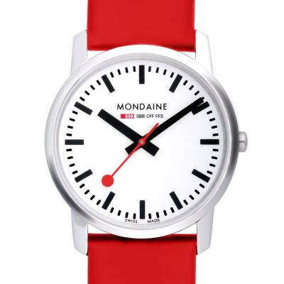 Unisex Mondaine Swiss Railways Simply Elegant Watch A4003035111SBC
