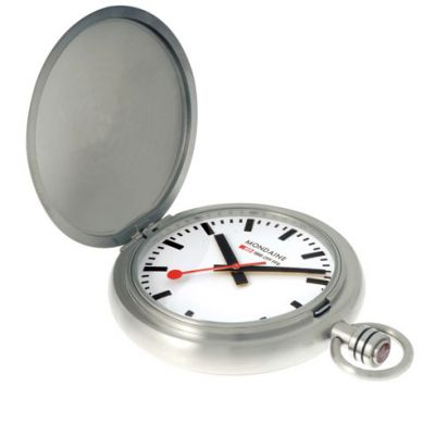 Mondaine Swiss Railways Pocket Watch A6603034916SBB