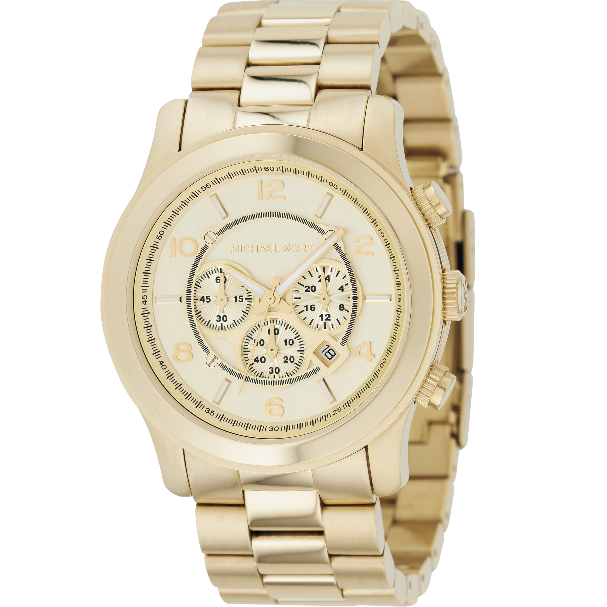 watchshop michael ladies watches darci gold watch kors silver com