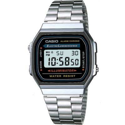 Montre Chronographe Unisexe Casio Classic A168WA-1YES