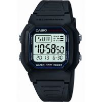 Mens Casio Sports Gear Alarm Chronograph Watch W-800H-1AVES
