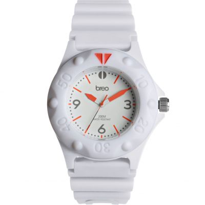 Mens Breo Pressure White Watch B-TI-PRS8