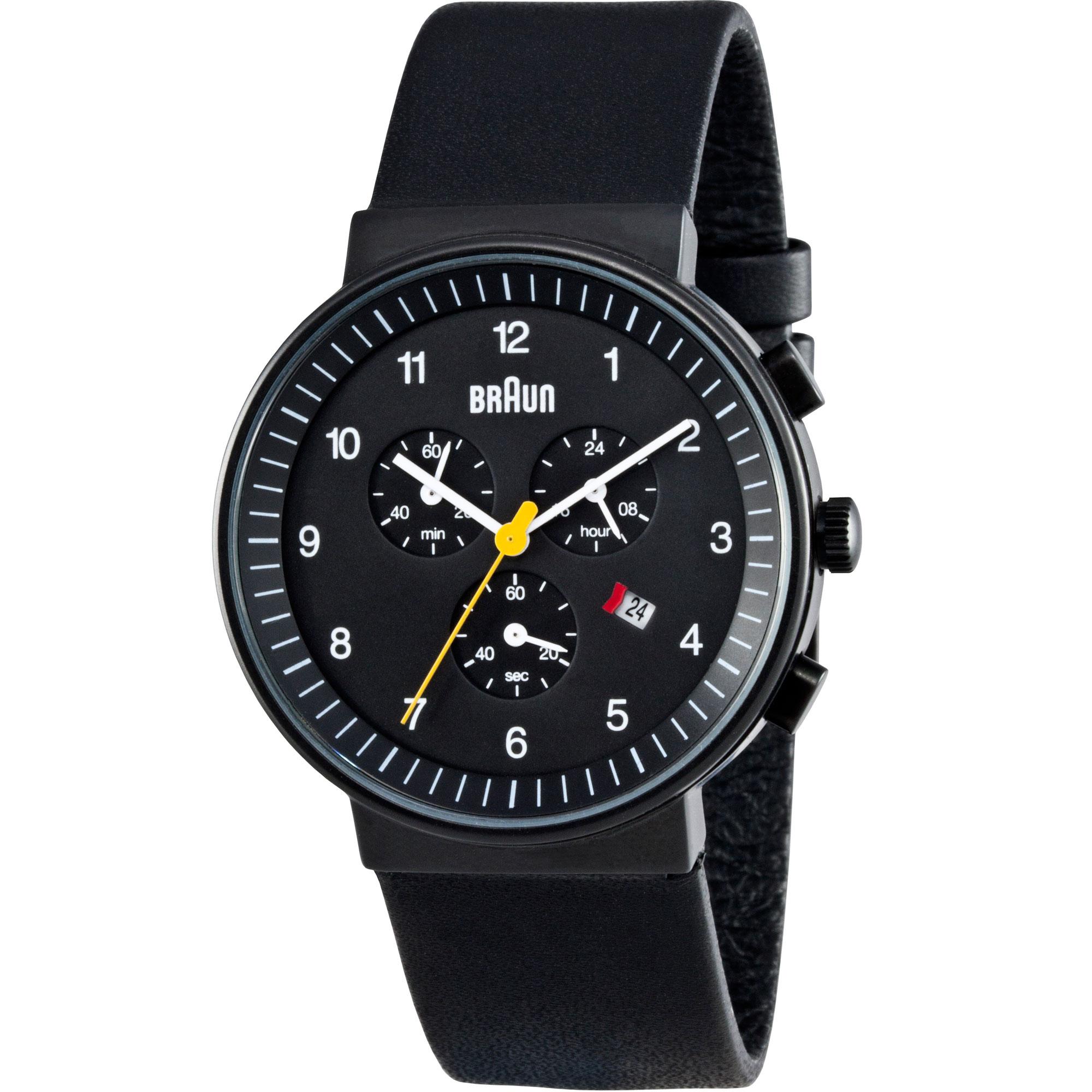 7e73bae67c70c Gents Braun BN0035 Classic Chronograph Watch (BN0035BKBKG ...