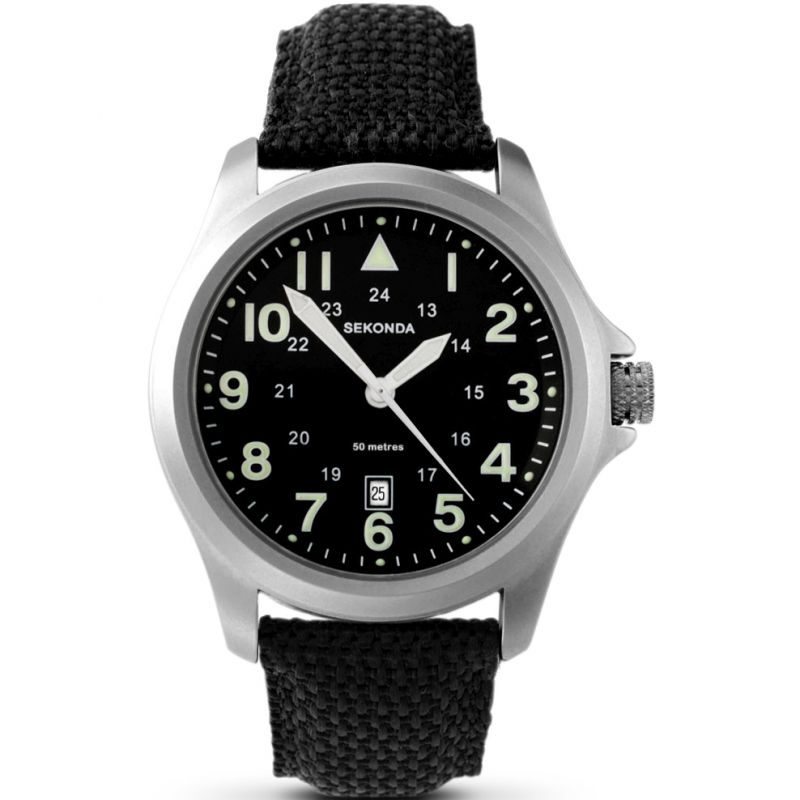 Image of            Mens Sekonda Aviator Watch