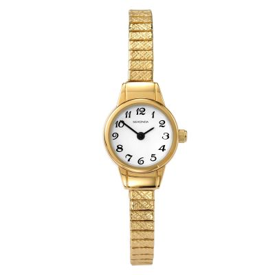 Sekonda Damenuhr in Gold 4474