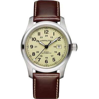 Mens Hamilton Khaki Field 42mm Automatic Watch H70555523