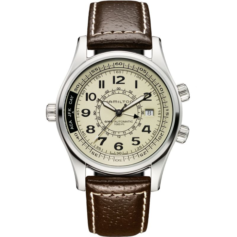Mens Hamilton Khaki UTC Automatic Watch