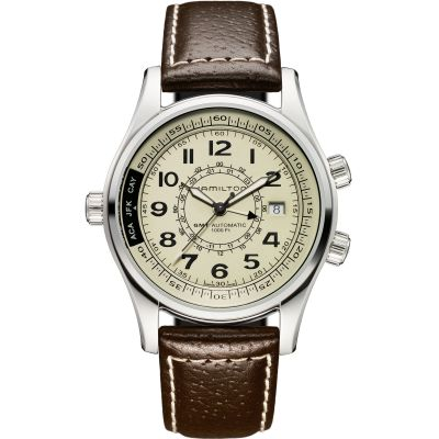 Mens Hamilton Khaki UTC Automatic Watch H77525553