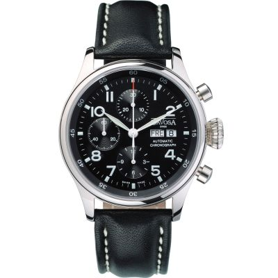 Mens Davosa Pilot Automatic Chronograph Watch 16100456